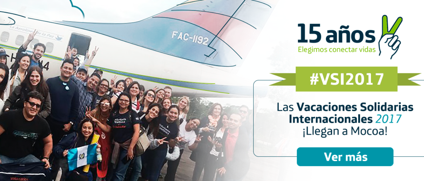 ¡Regresan las Vacaciones Solidarias Internacionales a Colombia!