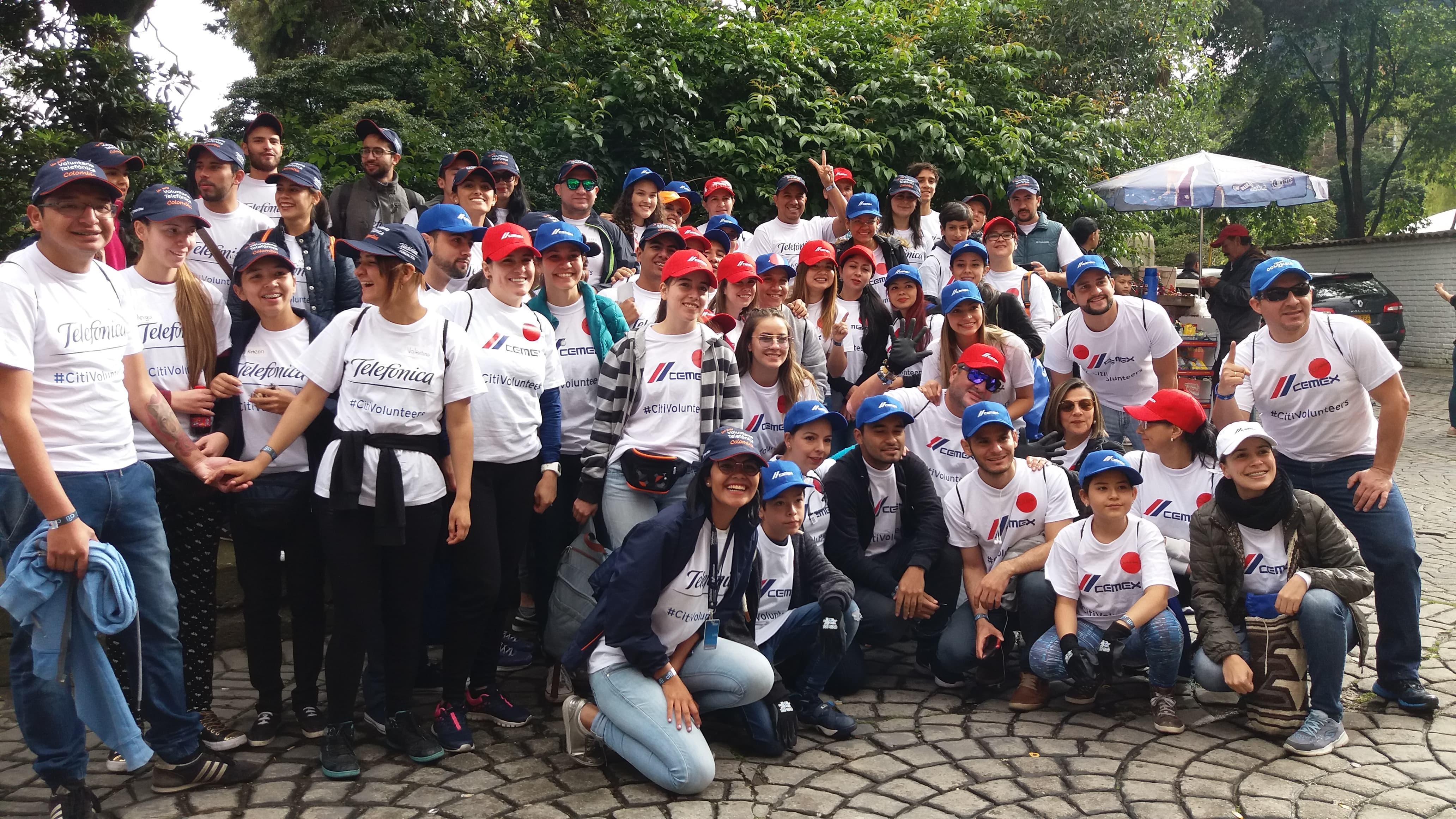 Le dimos color a Bogotá en el Día Global de la Comunidad Citi