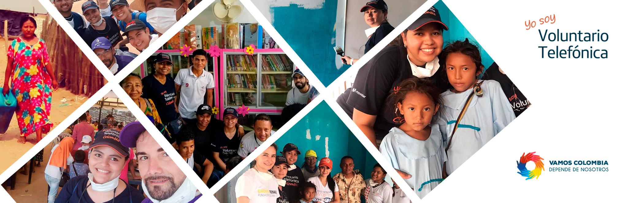 Voluntarios viajarán a La Guajira para aportar sus conocimientos y valores a la comunidad