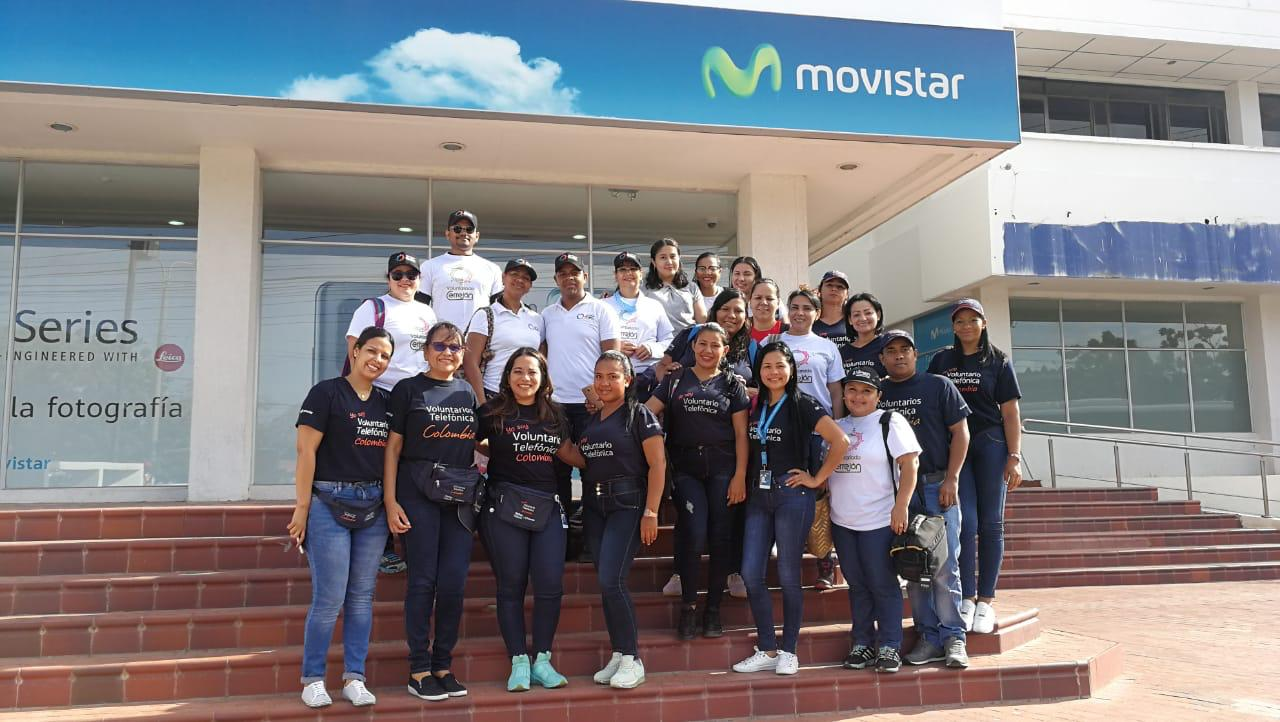 Voluntarios Telefónica Movistar 2
