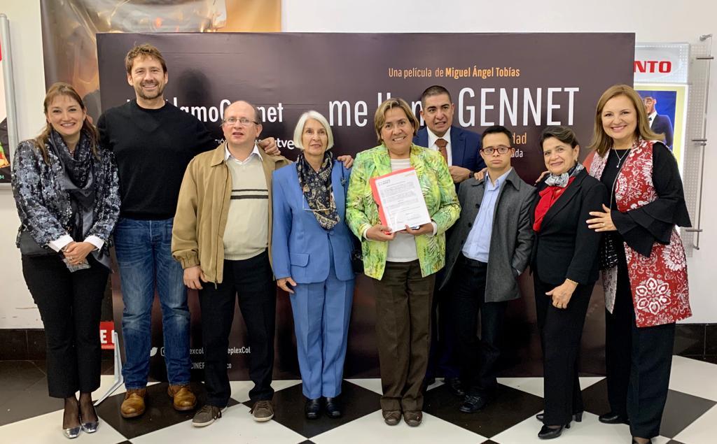 """""""Me llamo Gennet"""", la película inclusiva que trae la Fundación Telefónica a Colombia"""