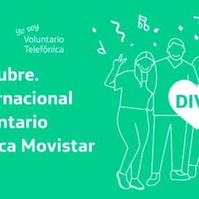 ¡Hoy celebramos la solidaridad, nuestro Día Internacional del Voluntario Telefónica Movistar 2020!