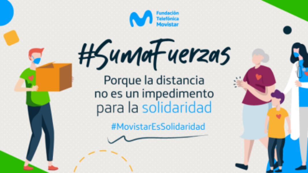 Fundación Telefónica Movistar dona más de 1.700 millones de pesos para combatir la Covid-19 en Colombia