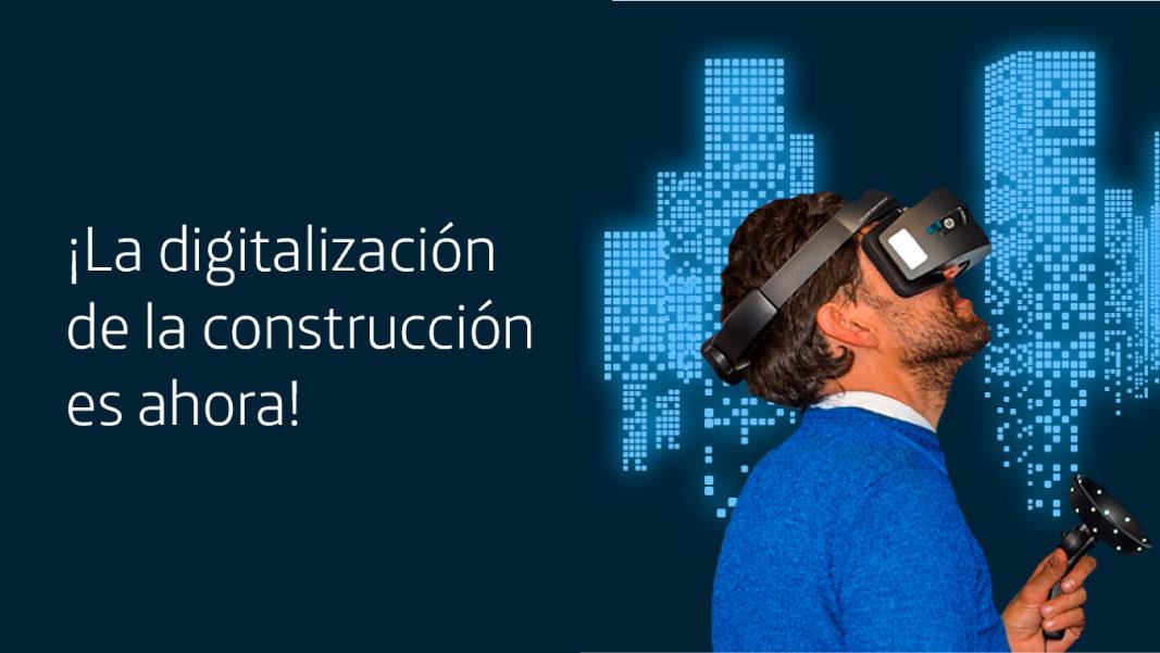 ¡La digitalización de la construcción es ahora!