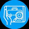 ICONO Conecta Empleo Azul