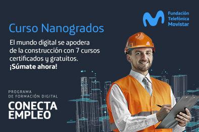 ¡Apúntate a Nanogrado Construcción 4.0!