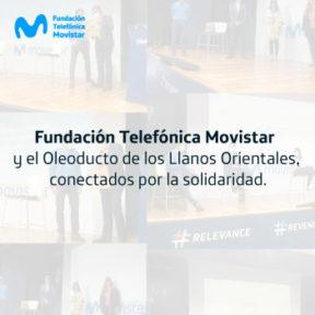 La Fundación Telefónica Movistar apoya el Programa de Voluntariado del Oleoducto de los Llanos Orientales