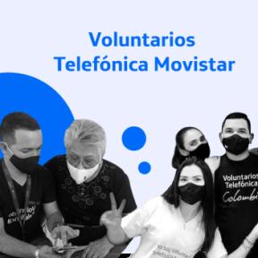 Desde el mes de agosto nuestros Voluntarios Telefónica Movistar lideraron iniciativas de transformación y alfabetización digital en el país
